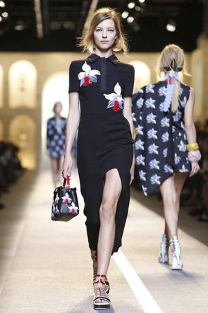 Fendi, Ready to Wear Spring Summer 2015 Collection in Milan