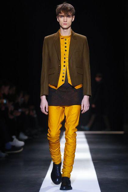 Ann Demeulemeester Menswear Fall Winter 2015 Paris