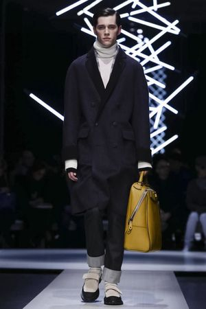 Canali Menswear Fall Winter 2015 Collection in Milan