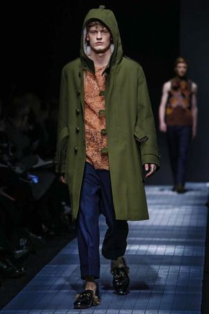 Gucci Menswear Fall Winter 2015 Milan - NOWFASHION