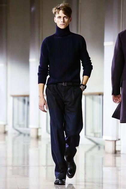 Hermes Menswear Fall Winter 2015 Paris