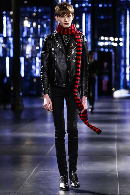 Saint Laurent Menswear Fall Winter 2015 Paris 2