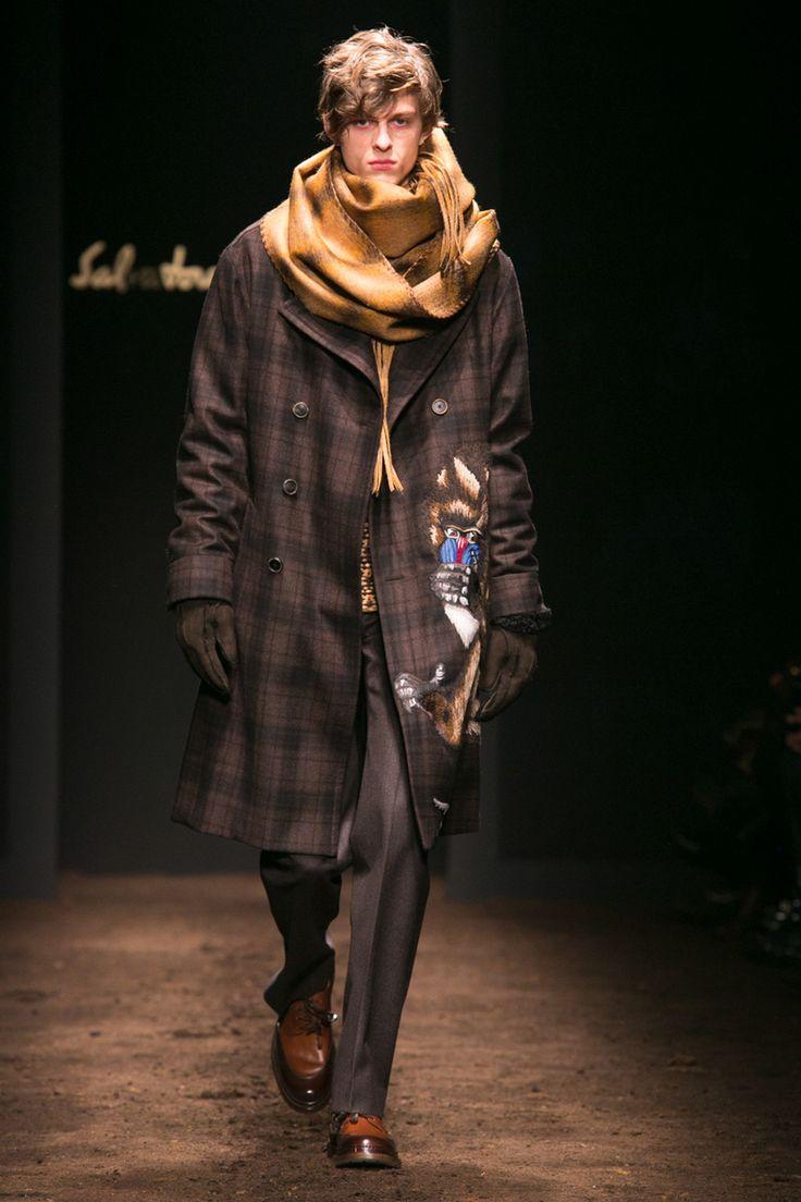 Salvatore Ferragamo Show Menswear Collection Fall Winter 2015 Milan