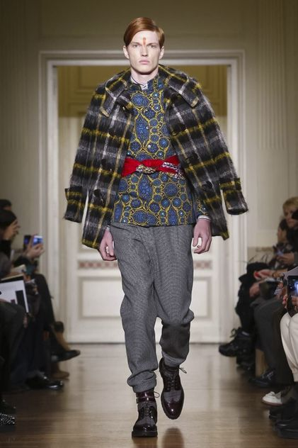 Stella Jean Menswear Fall Winter 2015 Collection in Milan