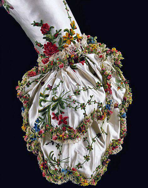 Sleeve cuff from Marie Antoinette's Dress, 1780