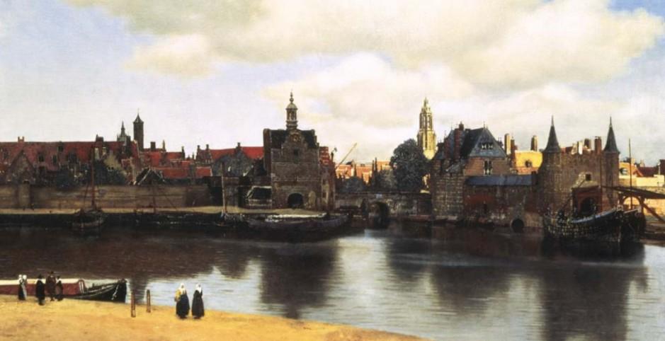 la veduta di delft J.Vermeer